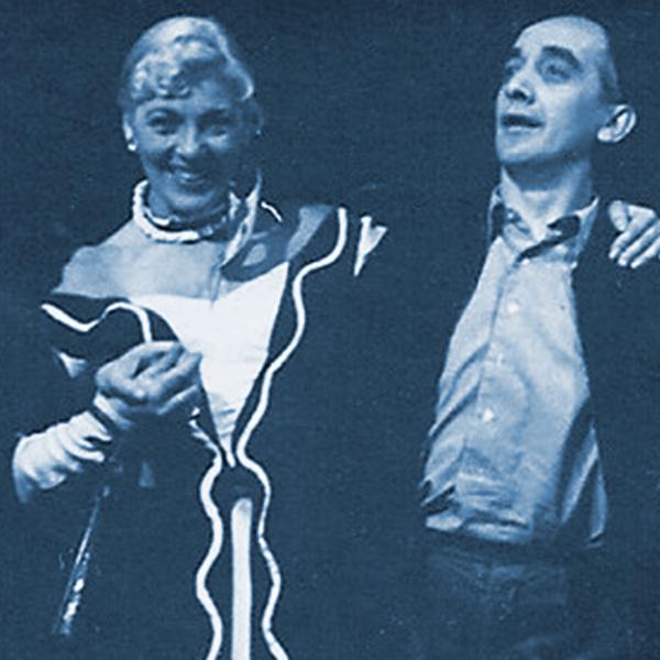 Hermann Kaubisch und Rita Zorn